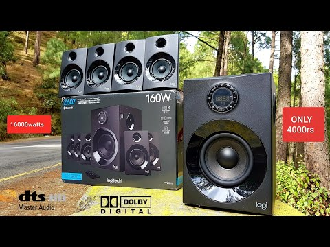 Logitech Z607 5.1 SURROUND SOUND  HOME THEATRE UNBOXING (16000watts) Best Home Theatre Under 4000rs