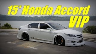 VIP Honda Accord G9 15' with crazy sound system build  & air suspension