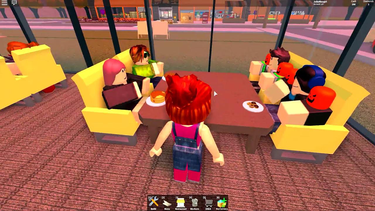 Roblox Comida Americana Vs Italiana Restaurant Tycoon Julia - roblox escape do hamburguer gigante escape a giant burger obby