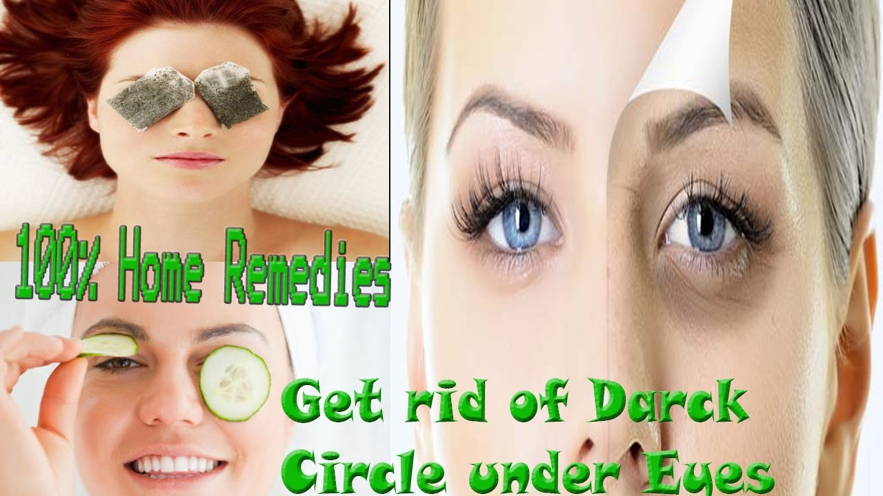 How to Get Rid of Black Circles Under Your Eyes │Get Rid ...