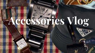 악세서리 소개 브이로그 (시계 ,목걸이 ,반지, 모자 …
