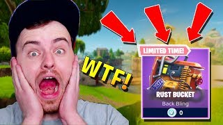 HOW TO GET A FREE FORTNITE BACKPACK! (Fortnite Rust Bucket Back Bling)