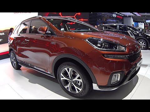 new kia kx3 2016 2017 video interior exterior kia. Black Bedroom Furniture Sets. Home Design Ideas