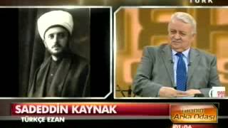 Sadeddin Kaynak-Türkçe Ezan