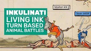 Inkulinati Gameplay |  Living Ink Turn Based Animal Battles