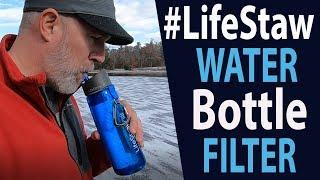 LifeStraw  Go Water Bottle Filter (REVIEW) 2 Stage