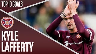 Kyle Lafferty  | Top Ten Hearts Goals | Ladbrokes Premiership