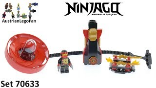 Lego Ninjago 70633 Kai - Spinjitzu Master - Lego Speed Build Review