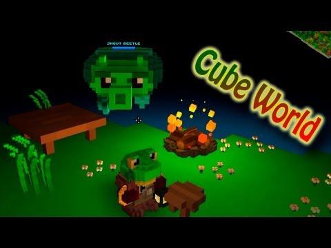 Фрост И Его Летающая Тарелка-Жук (Cube World) №1