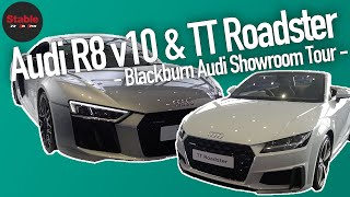 2019 Audi R8 v10 & Audi TT | Audi Blackburn Tour | Stable Lease