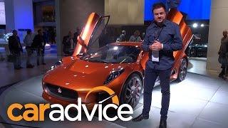 Jaguar C-X75 Bond Concept 2015 Videos