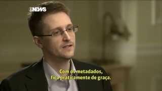 Edward Snowden - Entrevista Globo News (Milênio Especial) - Parte 01 [PT-BR]