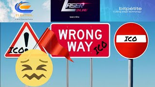 ICO Red Flags - YouTuber Warnings! SCAMS! PONZI!