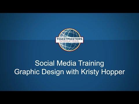 Social Media Training, Graphic Design with Kristy Hopper