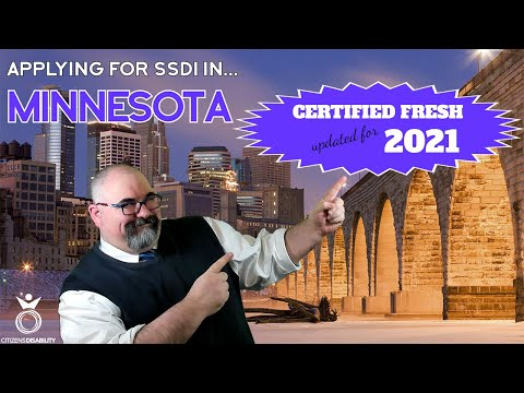 Applying for SSDI Benefits in Minnesota - Updated for 2021 | Citizens Disability
