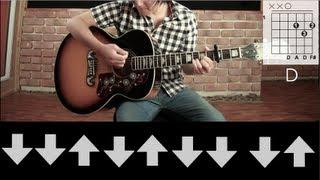 "Como tocar ""Here's To Never Growing Up"" de Avril Lavigne - Tutorial Guitarra // Guitar Tutorial (HD)"