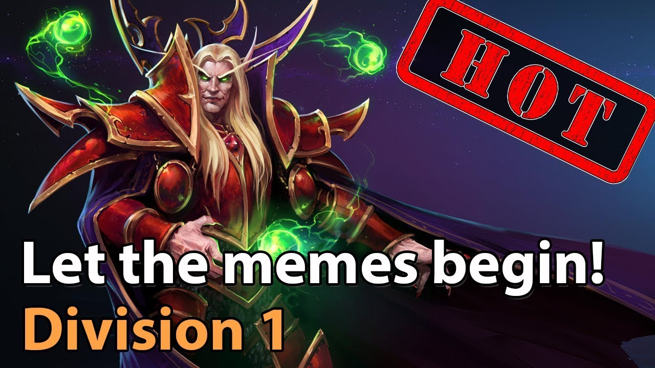 ► Let the Memes begin! - Division 1 - Heroes of the Storm Esports