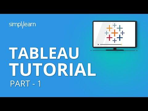 Tableau Tutorial Part - 1   Tableau Tutorial For Beginners Part - 1   Tableau Training   Simplilearn
