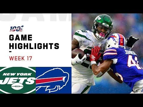Jets Vs. Bills Week 17 Highlights   NFL 2019