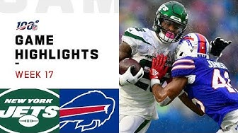 Jets vs. Bills Week 17 Highlights | NFL 2019