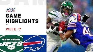 Jets vs. Bills Week 17 Highlights