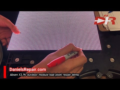 How To Repair Absen Modules How To Fix LED Modules From Absen
