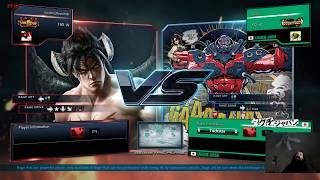 Tekken 7 Lobby w/ Devil Jin: One Set Per Subscriber Per Stream