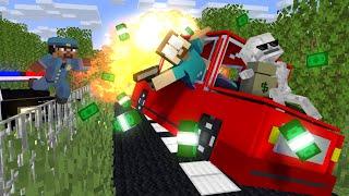 Monster School : BABY MONSTERS PRISON ESCAPE CHALLENGE 2 NEW EPISODE - Minecraft Animation