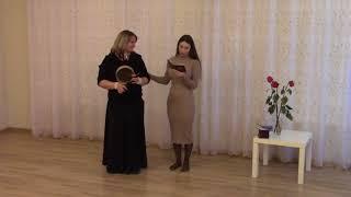 Вручение свидетельства НАНМ Вагановой Екатерине, обучение Ладка скалкой и другие бытовые ладки