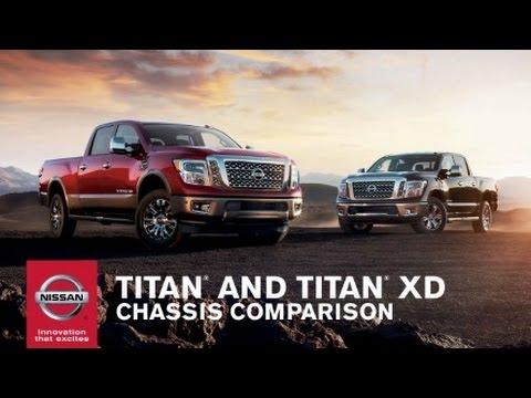 2017 Nissan Titan Vs Titan Xd Truck Comparison