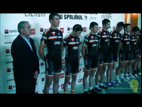 Prezentarea loturilor naţionale de ciclişti ai României