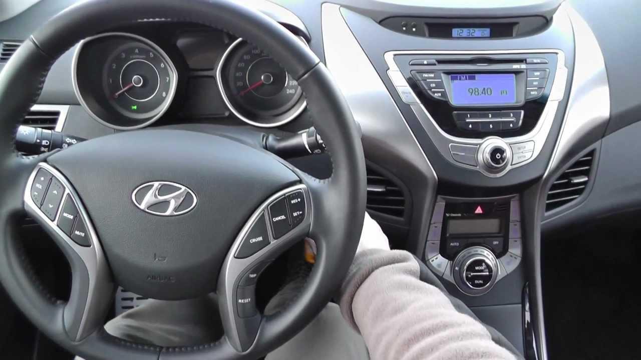 Hyundai Elantra 2012 1 6 132km Mpi Style Youtube