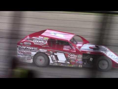 Dan Wheeler BMOD KRA Speedway Willmar. MN 06/08/17 *