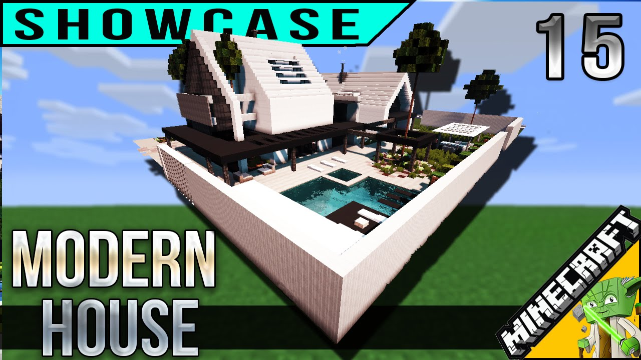minecraft modern house 15 with keralis best house of 2016 youtube - Biggest Minecraft House In The World 2016