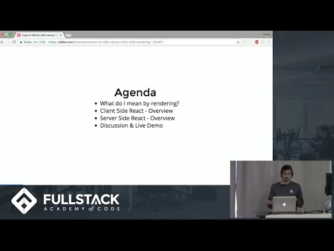 Tech Talk: Intro to Server-Side Rendering with React