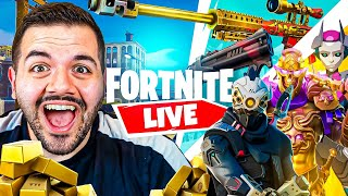 🔴FORTNITE SEASON 5 *LIVE* NEW BATTLEPASS! NEW MAP! NEW EVERYTHING! WITH FAMOUS STREAMERS!