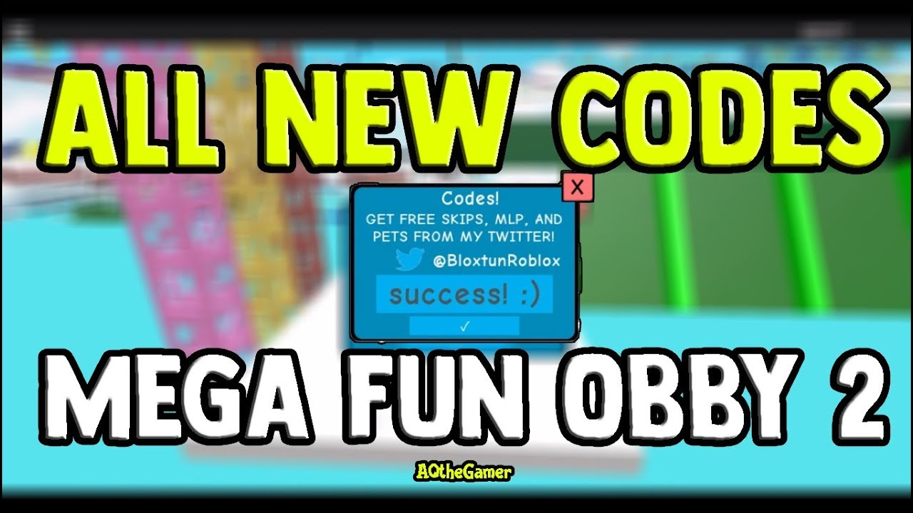 Mega Fun Obby 2 All New Codes Youtube