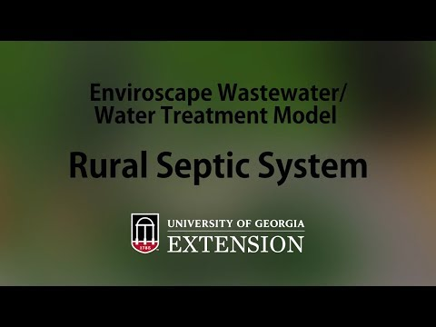 Enviroscape Wastewater-Water Treatment Model - Rural Septic System