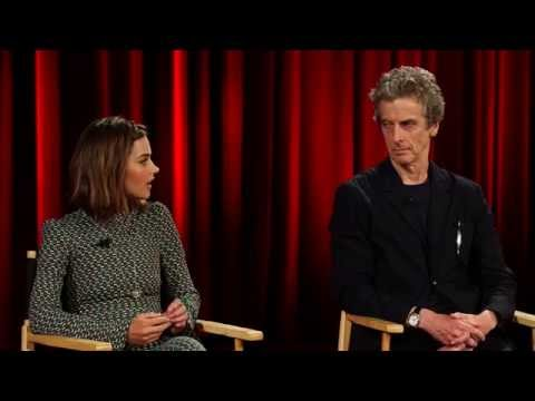 Jenna Coleman and Peter Capaldi: Doctor Who