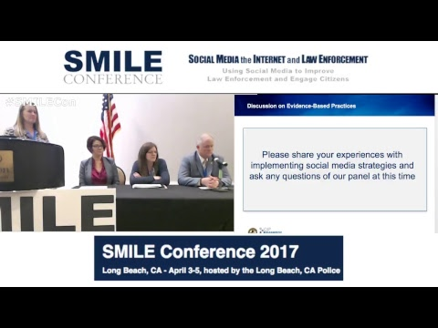 Social Media For Building Community Trust Panel #SMILEcon Long Beach