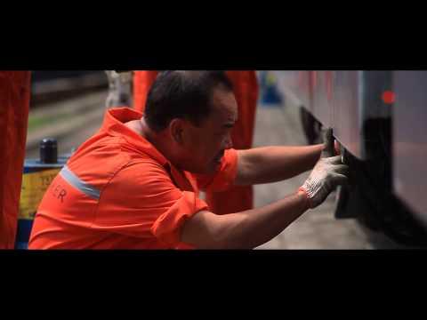 DB Schenker - Light Rail Project, Dalian Port