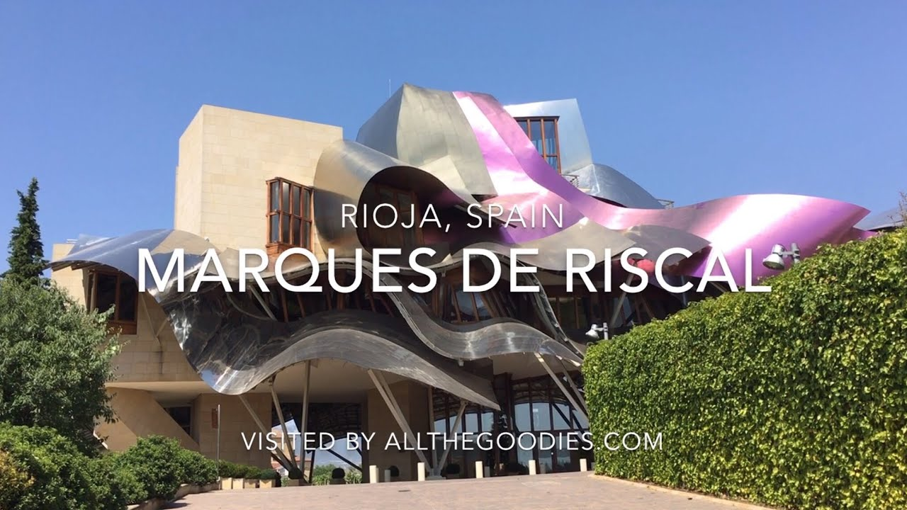 Marques De Riscal Hotel Rioja Spain By Frank Gehry Youtube