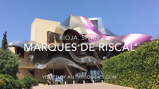 Marques de Riscal Hotel, Rioja, Spain by Frank Gehry
