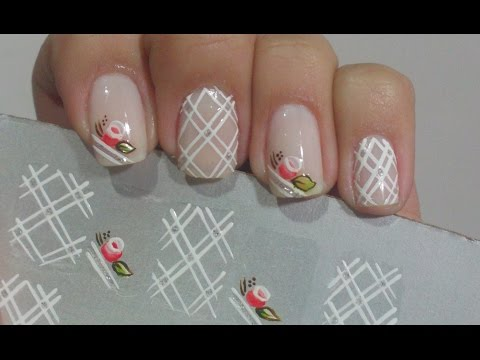 How To Make Nail Stickers Tutorial