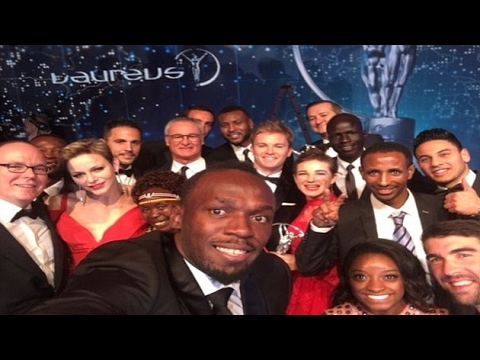 Bolt and Biles dominate at 'Sports Oscars'