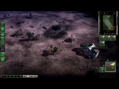 Command & Conquer 3 with mod MidEast Crisis 2