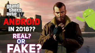 Rockstar Confirmed GTA 4 Will Launched In May 2018 On Android/IOS 😱😱 ? Real Or Fake?lets see😈😈