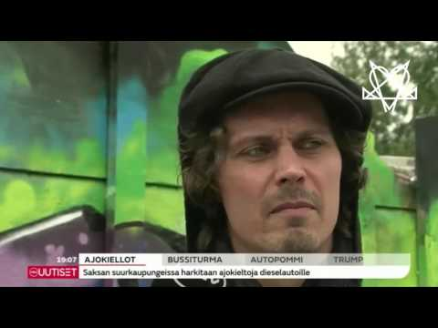 Ville Valo Interview MTV/Tuska Festival 2017