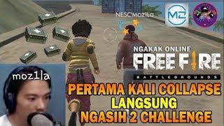 COLLAPSE Moz1La & KemasPakeZ NEW CHALLENGE NGAKAK ONLINE