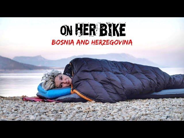 Bosnia and Herzegovina. On Her Bike Around the World. Episode 30